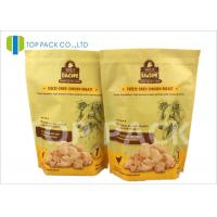 Wholesale Heat Sealing 6oz Stand Up Food Pouches With Zipper , Customized Logo from china suppliers