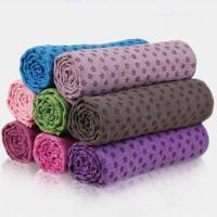 Wholesale skidless yoga mat towel for sale from china suppliers