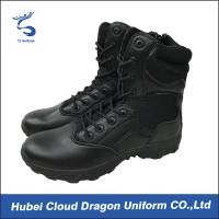 Wholesale Winter Men Tactical Boots Security Uniform Accessories Embossed Oem Logo from china suppliers
