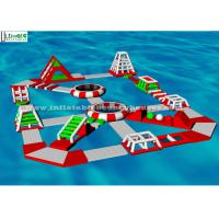 Wholesale Adults Entertainment Inflatable Water Toys Floating Inflatable Aqua Fun Park from china suppliers