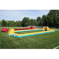 Wholesale Convenient to carry inflatable soccer field / PVC inflatable soccer field for games from china suppliers