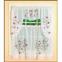 Wholesale 52 X 14 Small Flower 12 Grommet Blackout Curtains For Kitchen Window from china suppliers