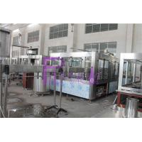 Quality PLC Control 3 In 1 Water Filling Machine SUS304 With Screw Cap for sale