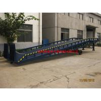 Wholesale 8t Man Manual Control Mobile Loading Ramp Safety Adjustable Movable Dock Ramp from china suppliers