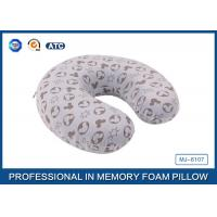 Wholesale Comfortable Micro Plush Memory Foam Evolution Travel Pillow Perfect For Neck Supporting from china suppliers