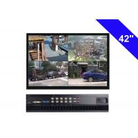 Wholesale Black CCTV LCD Monitor 42 Inch , 220W CCTV Security Monitor AC 100V- 240V from china suppliers