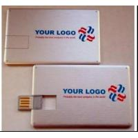 Wholesale full color printing credit card usb drives with 512mb 1g 2g 4g 8g 16g from china suppliers