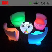 Wholesale Leisure LED glow chair outdoor furniture GF108 light furniture plastic Led furniture bar Chair from china suppliers