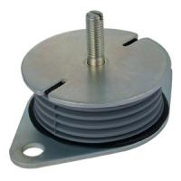 Buy cheap Custom Made NR Rubber & Steel Isolator Damper from wholesalers