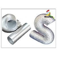 Wholesale Aluminum Flexible Duct , 10m Heat Resistant Flexible Ventilation Ducting from china suppliers