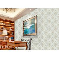 Wholesale European Style Floral Beige Non Woven Wallpaper Decoration non woven wallcovering from china suppliers