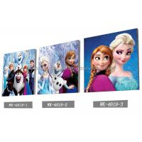 Buy cheap Custom Frozen Design 3D frameless Plastic Printing Service PET Pictures from wholesalers