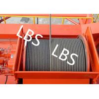 Wholesale High Efficiency Carbon Steel Tower Hoist Winch With Lebus Grooved Drum from china suppliers