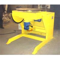 Wholesale Yellow Pipe Welding Rotators Positioners , Welding Rotary Table With Multiple Indexer from china suppliers