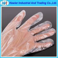 Wholesale PE glove plastic gloves disposable transparent gloves from china suppliers