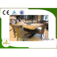 Wholesale Down Fume Exhaustion Gas or LPG Heating Japanese Teppanyaki Grill Table 11 Seats from china suppliers
