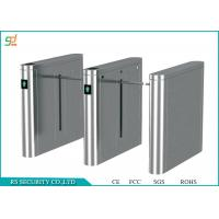Wholesale Automatic Stainless Steel Entrance Turnstiles / Turnstile Barrier Gate from china suppliers