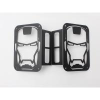 Wholesale Iron Man Taillight cover for jeep wrangler JK 07+ taillamp cover offroad accessories from china suppliers