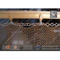Gold color Decorative Metal Curtain