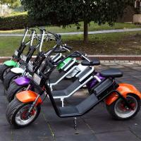 Wholesale 1200w Brushless 60V / 12Ah LG Lithium Battery Electric Scooter For Adults from china suppliers