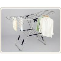 Wholesale Heavy Duty Retractable Collapsible Space Saving Clothes Rack , Modern Clothing Racks from china suppliers