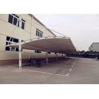 Quality Double Side Tensile Car Parking Structure Fabric Tent For Outdoor Park for sale