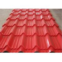 Wholesale Red Hot Dipped Galvanized Steel Sheet High Intensity  Fire Resistance from china suppliers