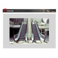 Wholesale Durable Stainless Steel Panel Escalator Safety With Anti Lip Grooves , SN - ES - D010 from china suppliers