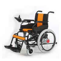 Wholesale Folding Handicapped Electric Wheelchair from china suppliers