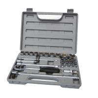 Wholesale Auto Repair Tools 25Pcs 1/2''  Ratchet and Socket Set with Chrome Vandium or Carbon Steel from china suppliers