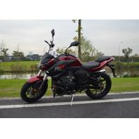 Wholesale Double Cylinder Double Disc Road Racing Motorcycles , Large Power Motorcycles from china suppliers