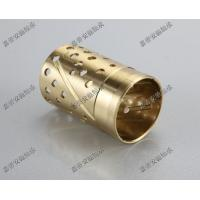 Wholesale Wrapped bronze sliding bearing with lubrication pockets Low-maintenance DIN 1494 / ISO 3547 from china suppliers
