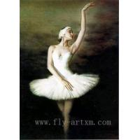 Wholesale Ballet Girl Dance Oil Painting Portrait from china suppliers