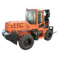 China 3500kg Rated Load Small Forklift Front Loader W35 With Small Diameter Steering Wheel on sale