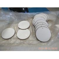 Wholesale 43x2mm Round Piezoelectric Ceramic Discs Positive and Negative in the Opposit Side from china suppliers