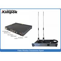 Wholesale Wireless Indoor Ground Station 1.5U Video Receiver with Real-time Transmission from china suppliers