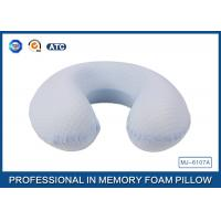 Wholesale Cool Pillow Case Memory Foam Contour Travel Pillow / U Shaped Travel Pillow from china suppliers