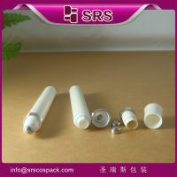 Wholesale SRS China manufacturer vibrating 10ml Plastic Roll On Bottle for eye cream packaging from china suppliers