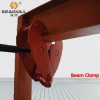 Quality Building Manual Beam Clamp Lifting Clamps With Shackle Easy Installation for sale