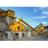 Wholesale Compact Structure Complete Crushing Plant , Jaw Impact Crushing Plant 250 - 300TPH from china suppliers