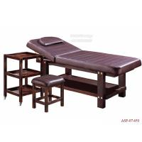 Wholesale ASF-07-053 Elegant Color Wooden Beauty Salon Folding Massage Bed Manufacturer from china suppliers
