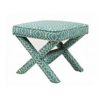 Wholesale Wood Cross Bedroom Ottoman Bench With Storage X Leg , French Style from china suppliers