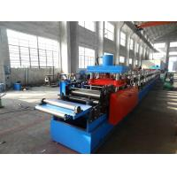 Wholesale C / U / Z Purlin Roll Forming Line With Single Head Decoiling Machine from china suppliers