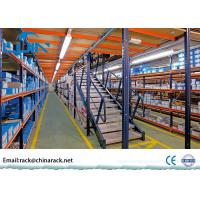 Wholesale Plywood Board Rack Supported Mezzanine Customized Size Metal Frame from china suppliers