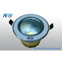 Wholesale 5000k 7 Watt COB LED Ceiling Down Light 600lm , LED Ceiling Light Fixtures from china suppliers