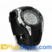 Wholesale Waterproof Fishing Barometer Watch with Altimeter, Thermometer, Weather Forecast, Timer from china suppliers