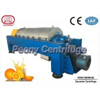 Wholesale Large Capacity Continuous Decanter Centrifuges for Fruit Juice Clarifying from china suppliers