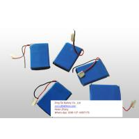 Wholesale 485050 3.7V 1300mAh prismatic battery pack from china suppliers