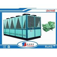 Wholesale 415V Shell Tube / Water Tank Air Cooled Liquid Chiller With Single Bitzer Compressor from china suppliers