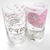Wholesale Logo Printed Drinking Glass Cup , Love Glass Mug from china suppliers